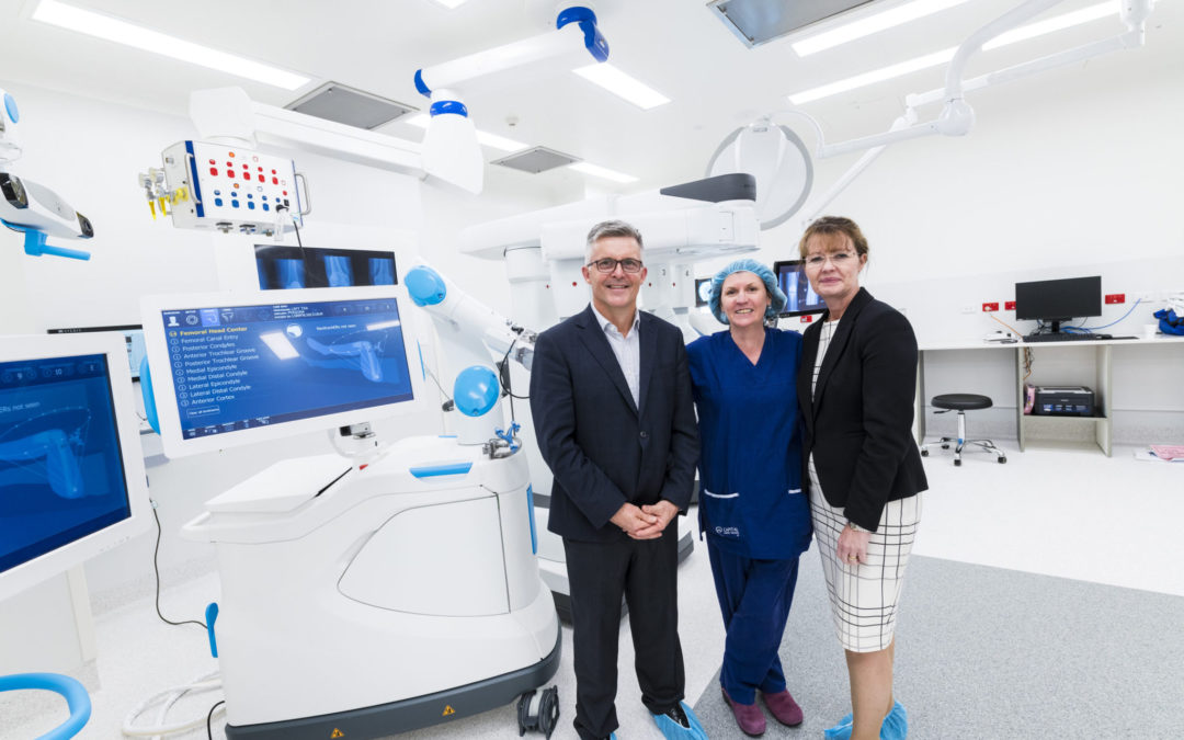 Cutting edge surgical robots land in Canberra for local-first operation