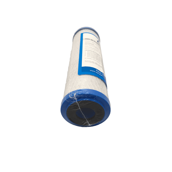 1 micron chloramines removal filter (17017) down view